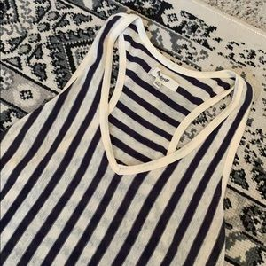 Madewell stripped summer top